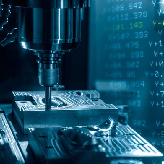Mecanizado de componentes complejos